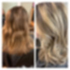Before & After__#balayage #beforeandafte