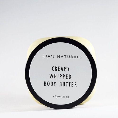 Smooth and Creamy Whipped Body Butter
