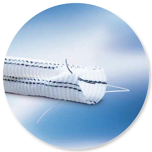 TEJIDO / Hemashield® Platinum Doble Terciopelo Bifurcado