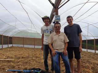 Projeto piloto Energia Solar Irrigação - Cidade Socorro - produtor de orgânico