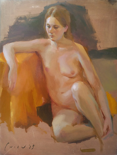 Karima - Nude Sustained Pose