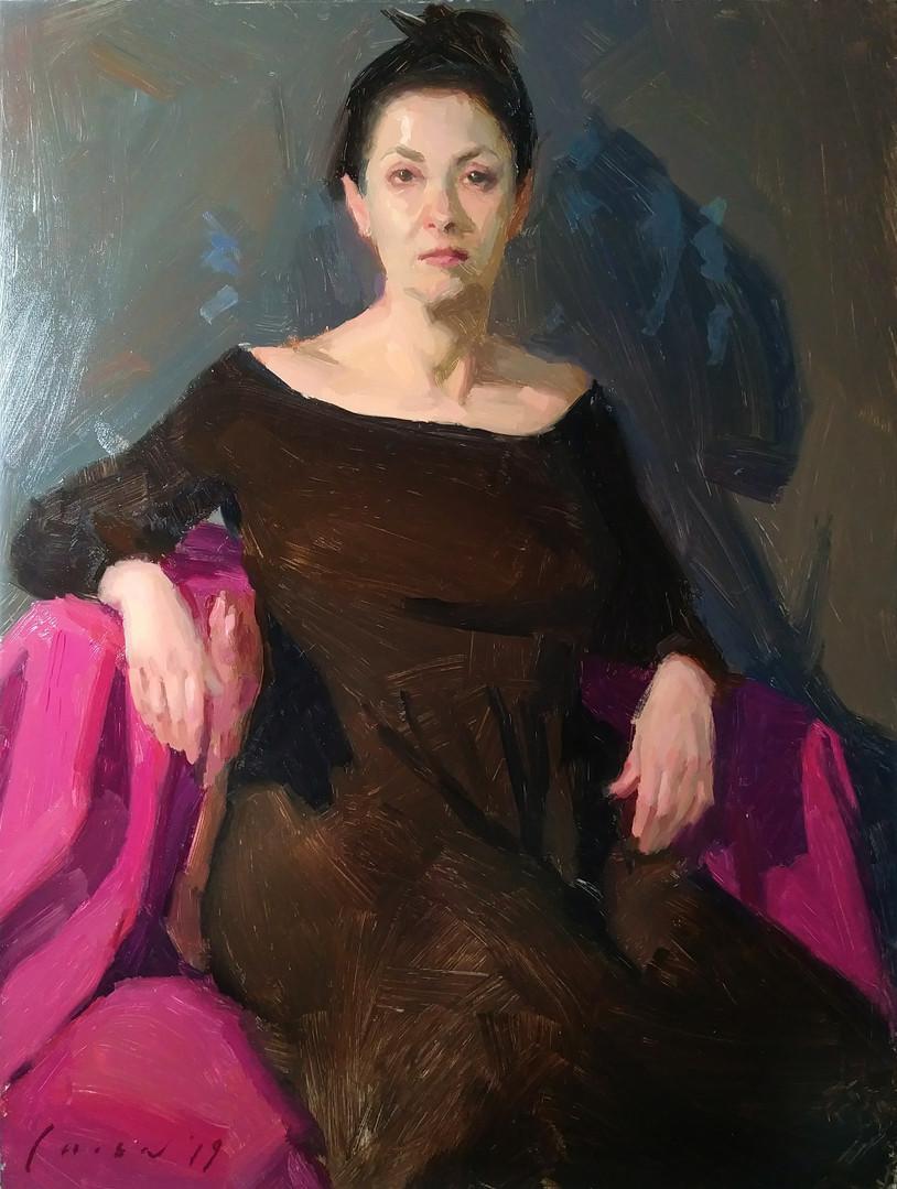 Sarah T - Portrait Sketch