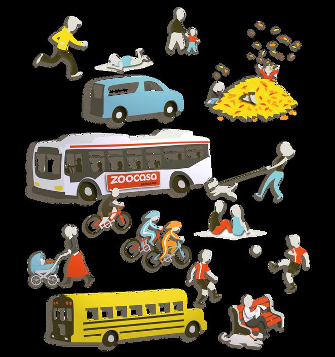 Zoocasa - Spot Illustrations