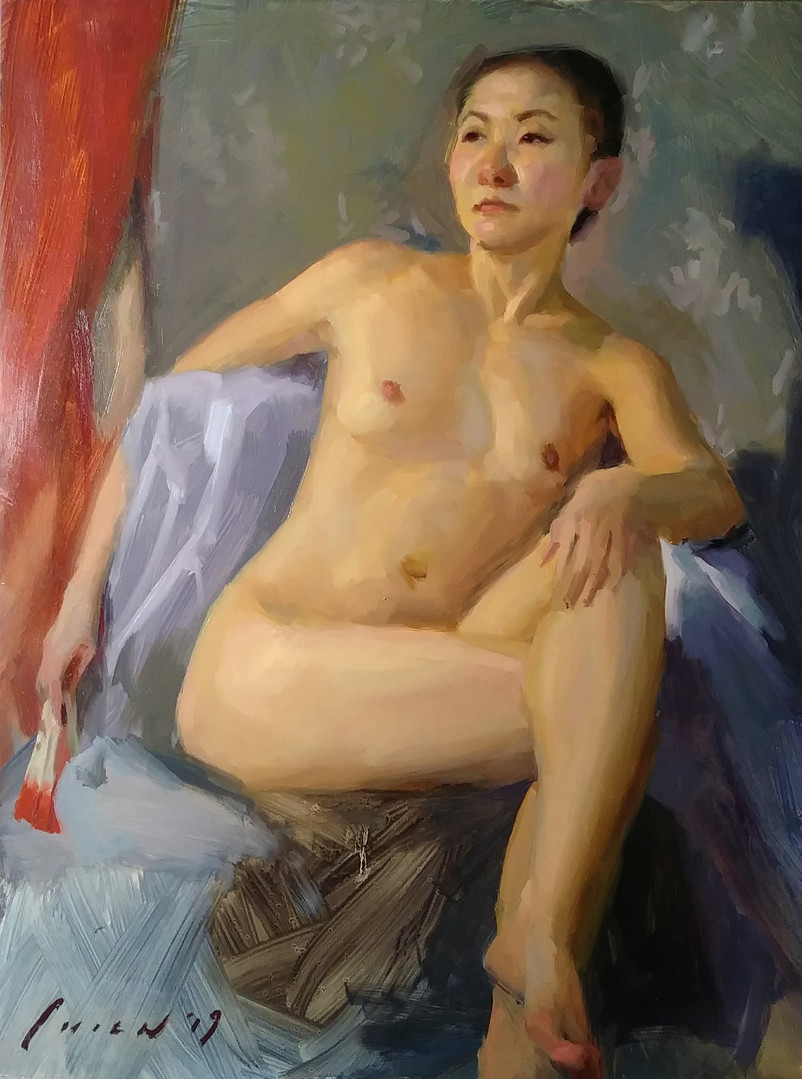 Yuri - Nude Study