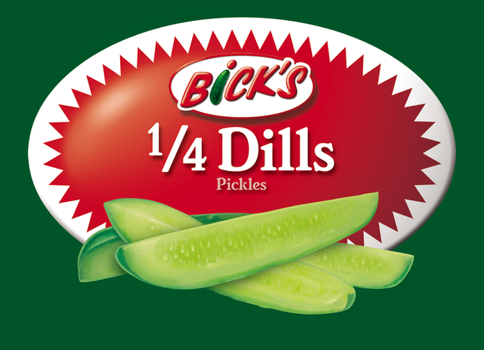 Bick's - Condiment Label