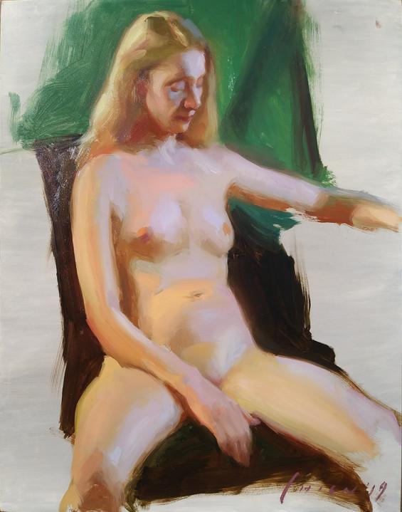 Rachel - Figure Sketch