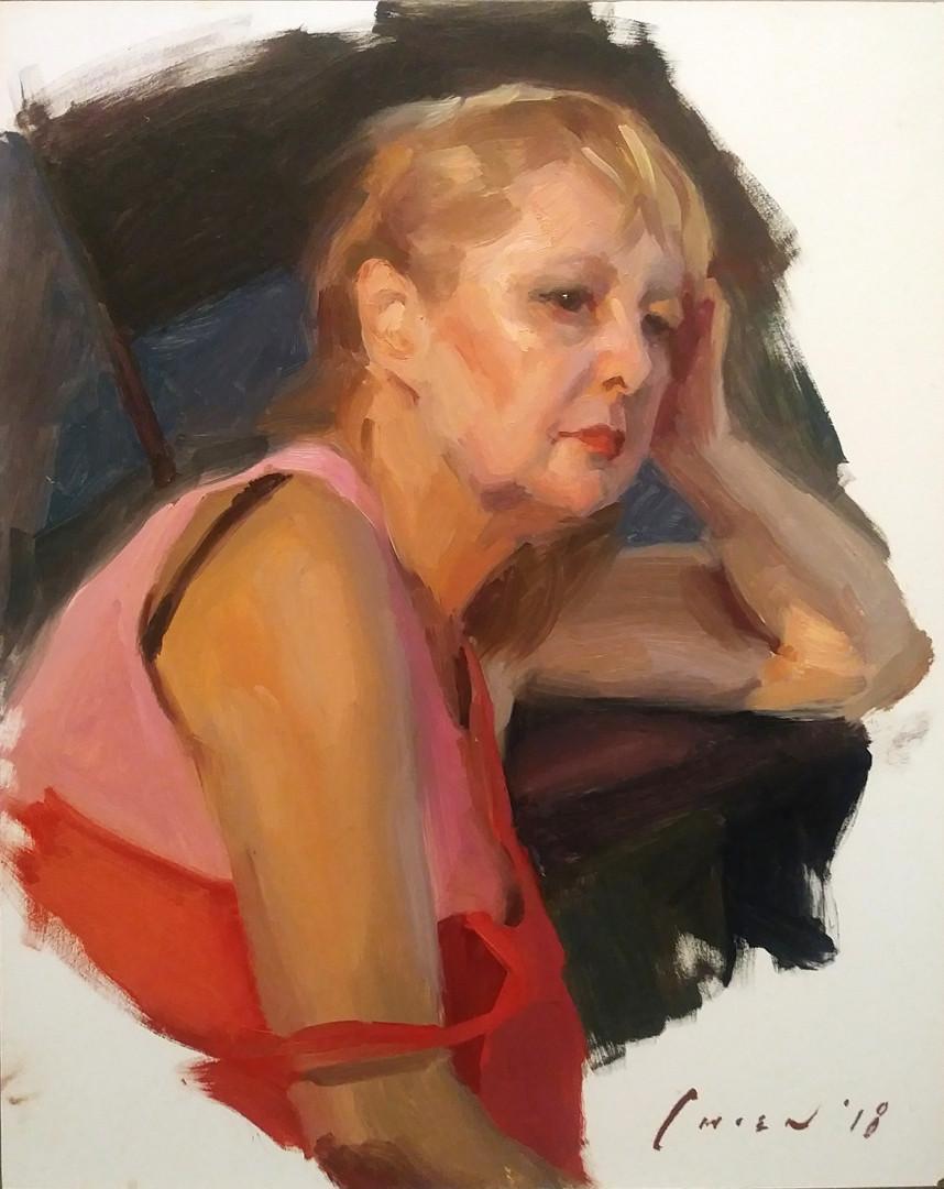 English Lady - Portrait Sketch