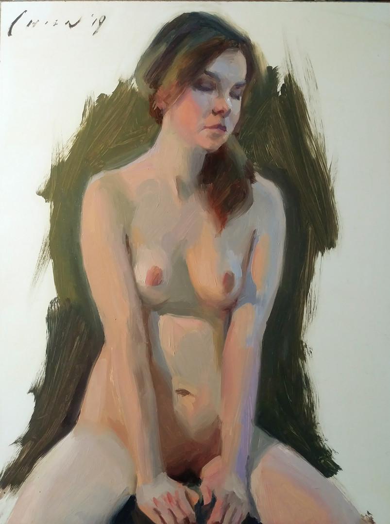 Jennifer - Figure Sketch
