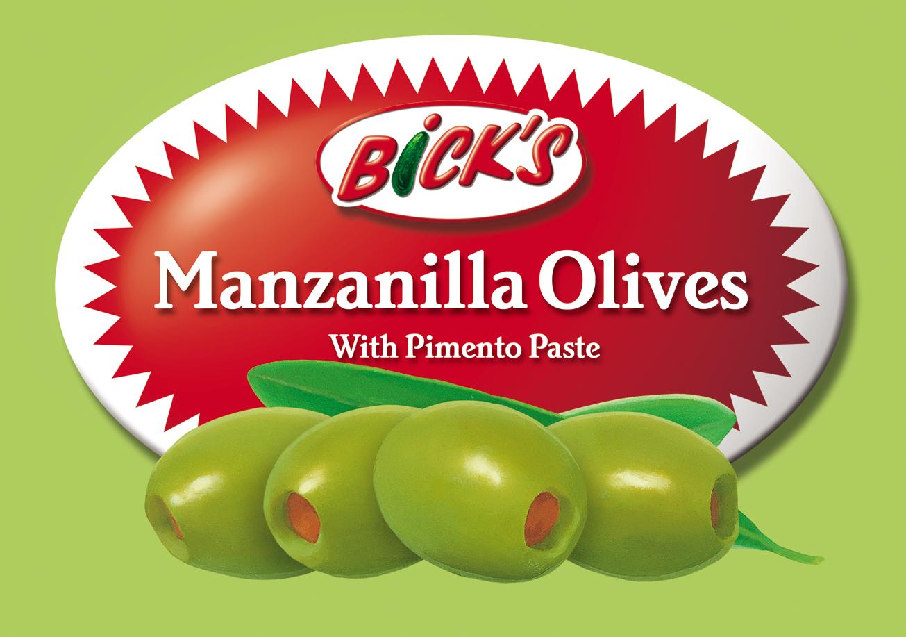 Bick's - Condiment Label