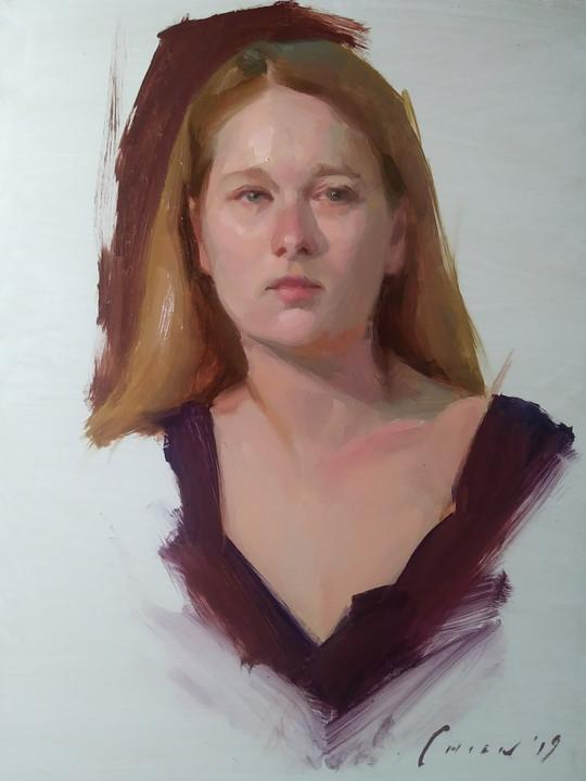 Karima - Portrait Sketch