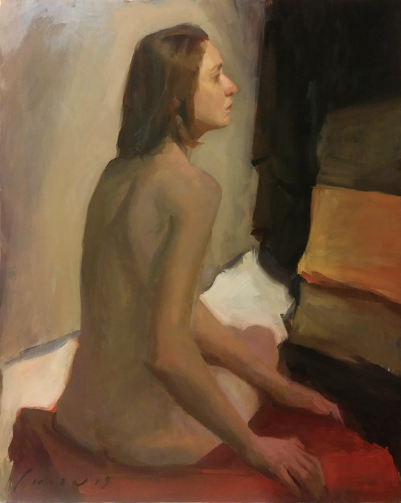 Polyna - Figure Sketch