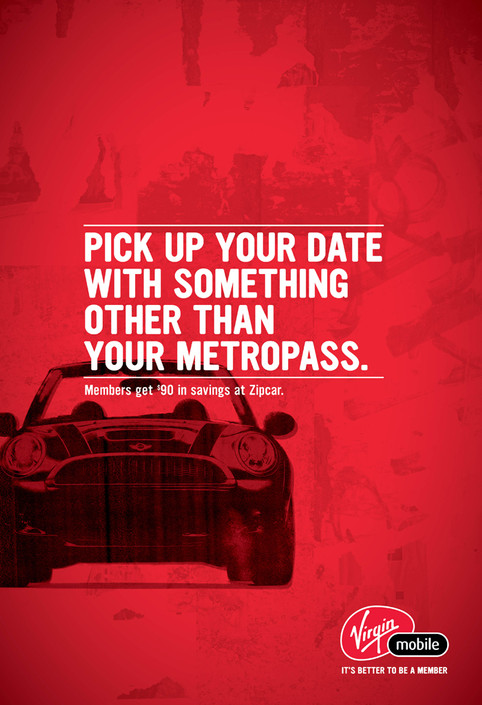 Virgin - Subway Ad