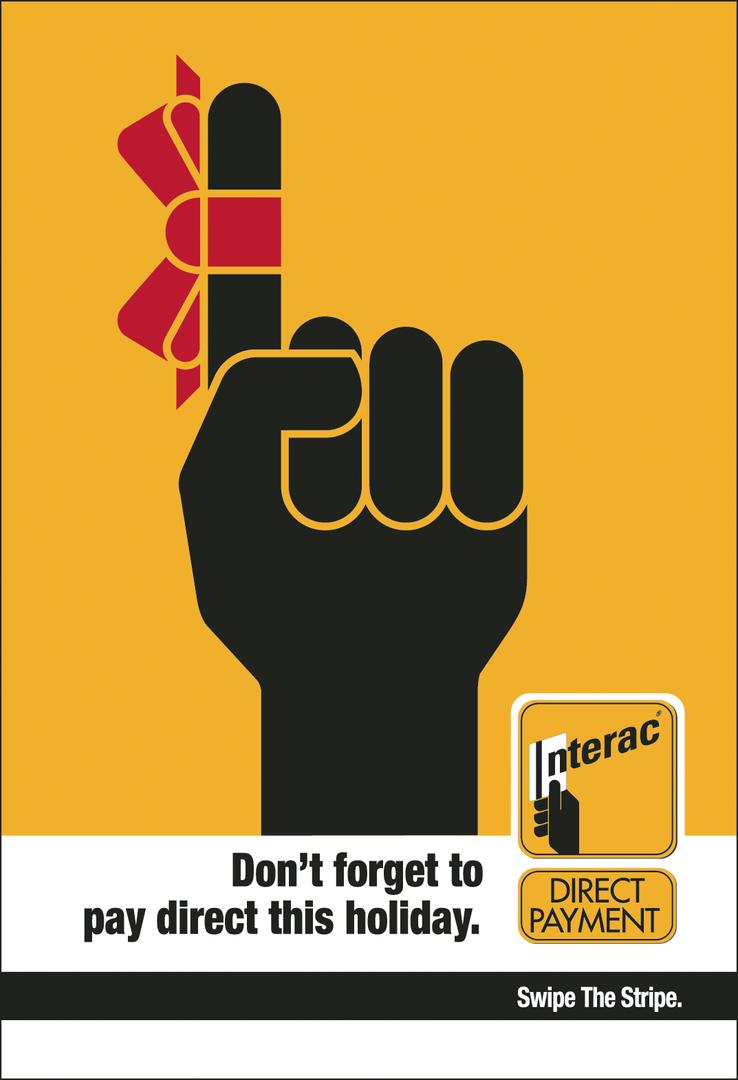 Interac - Bus Shelter Ad