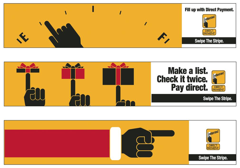 Interac - Bus Banner Ad