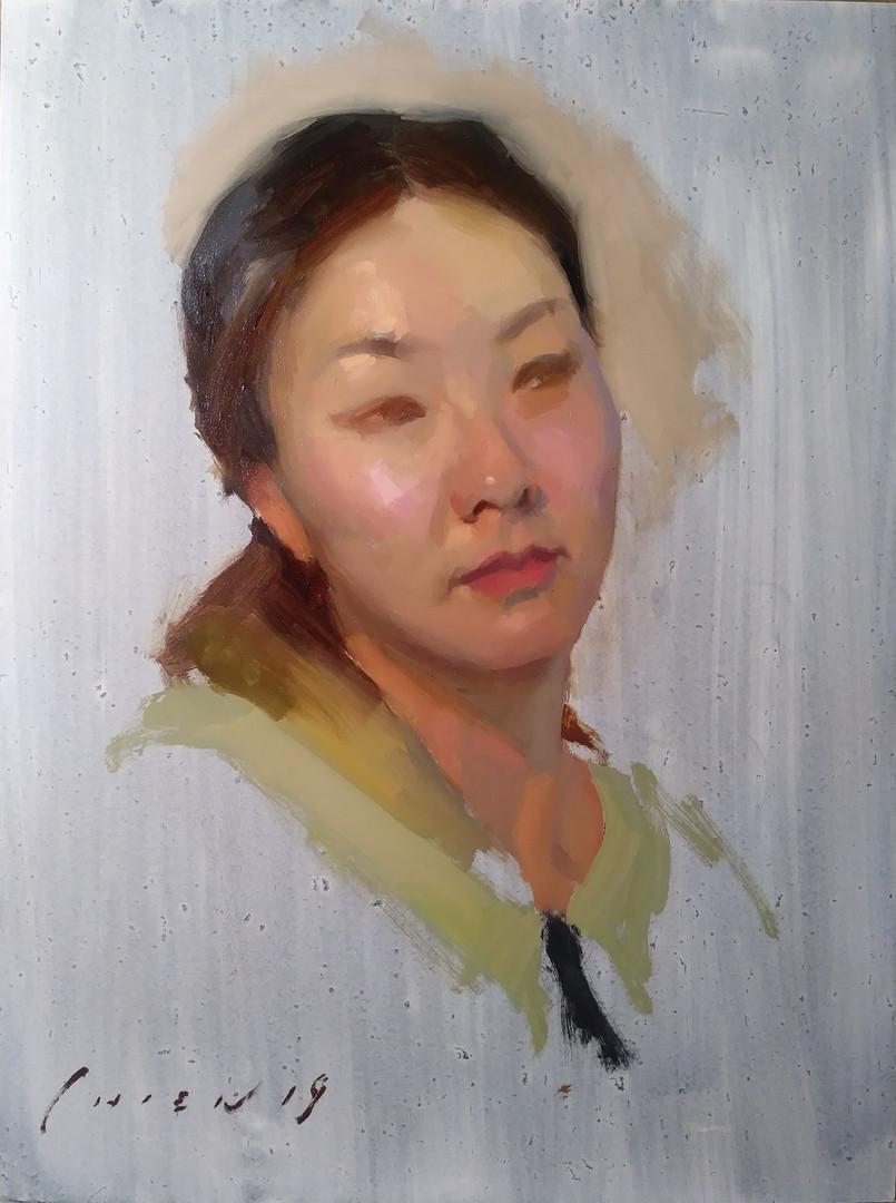 Yuri - Portrait Sketch