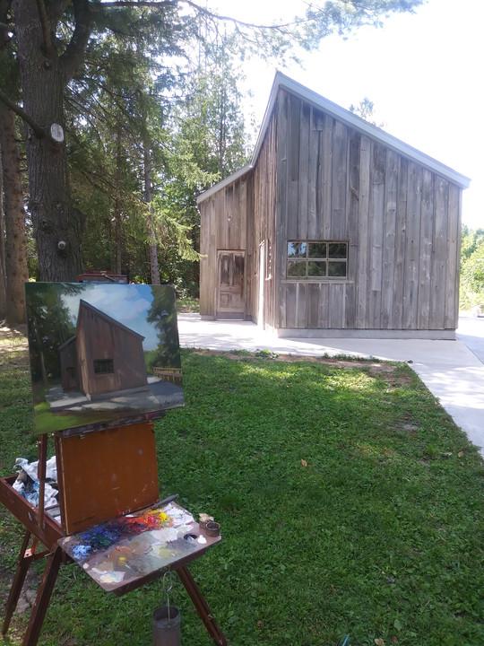 McMichael Plein-air Paintout