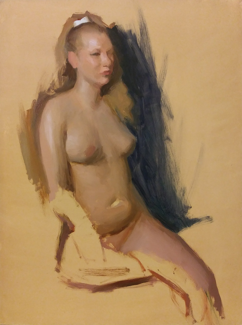Bijou - Figure Sketch