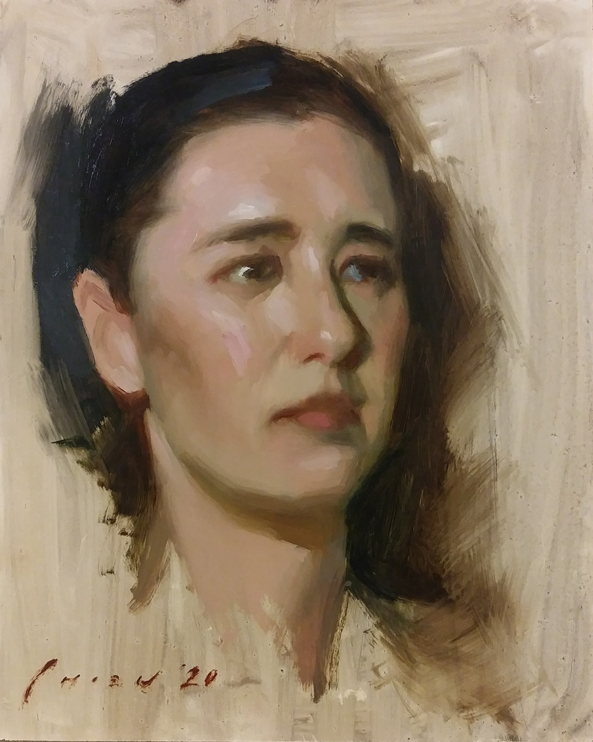 LadyPoser - Portrait Sketch