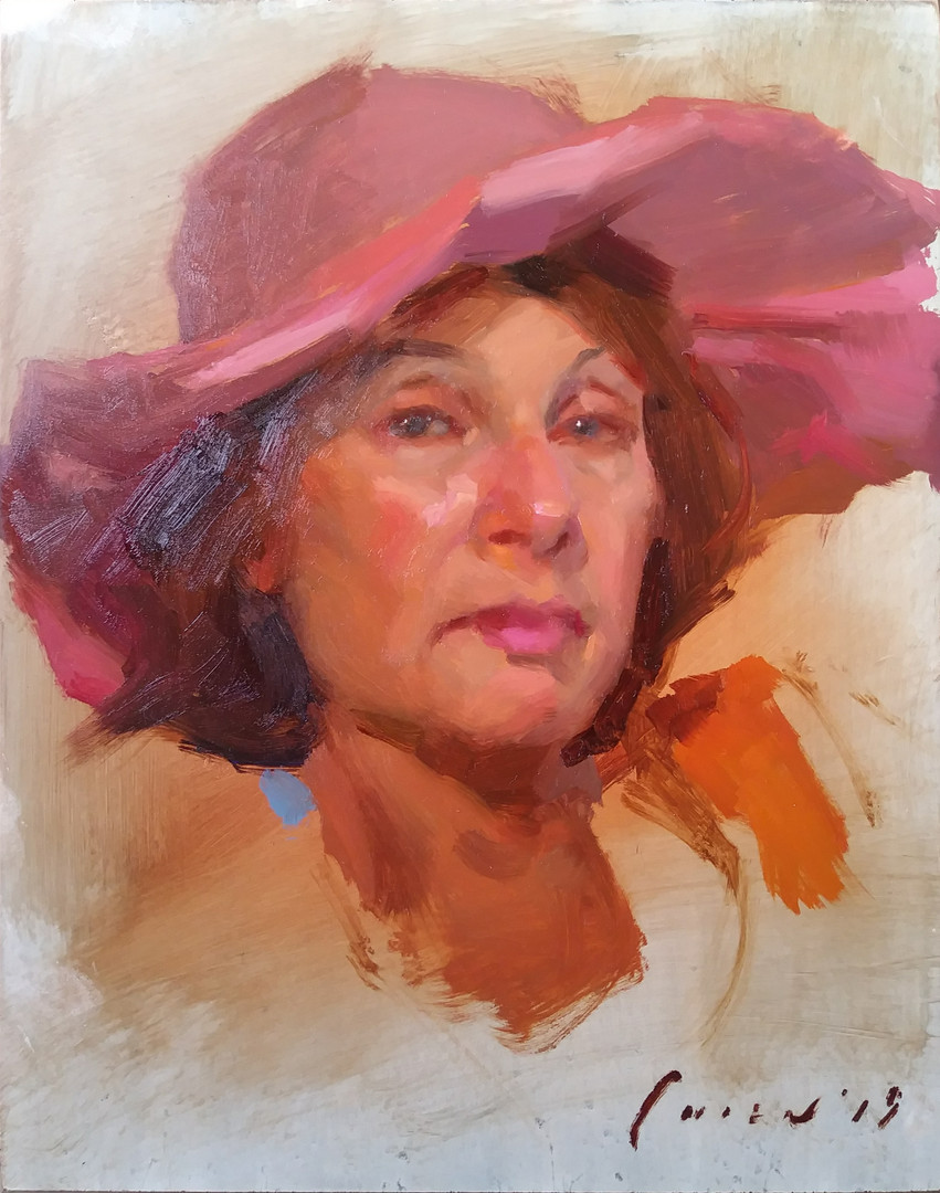 Galina - Portrait Sketch