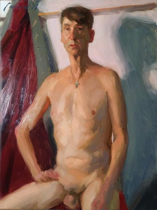 Chris - Figure Nude