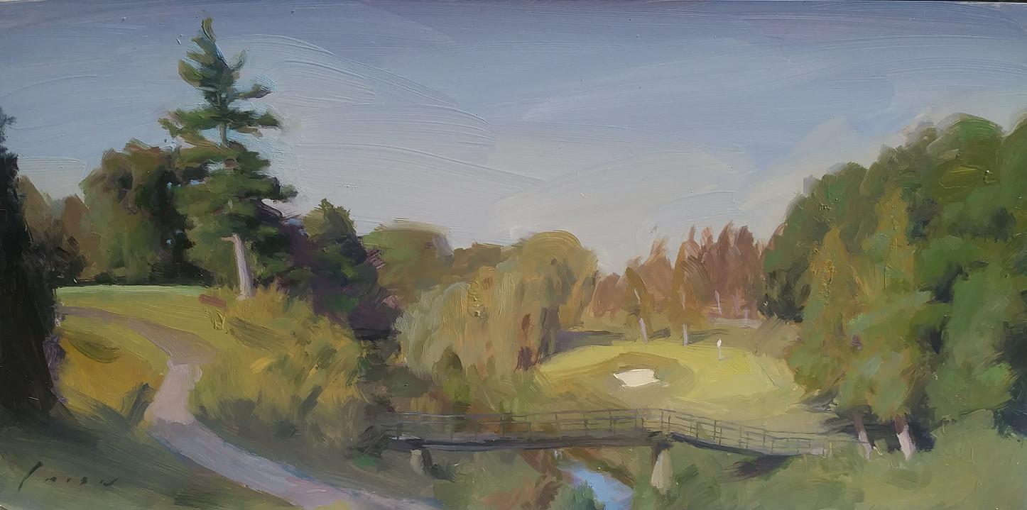 Cedar Brae G.C. Hole 6 - Landscape