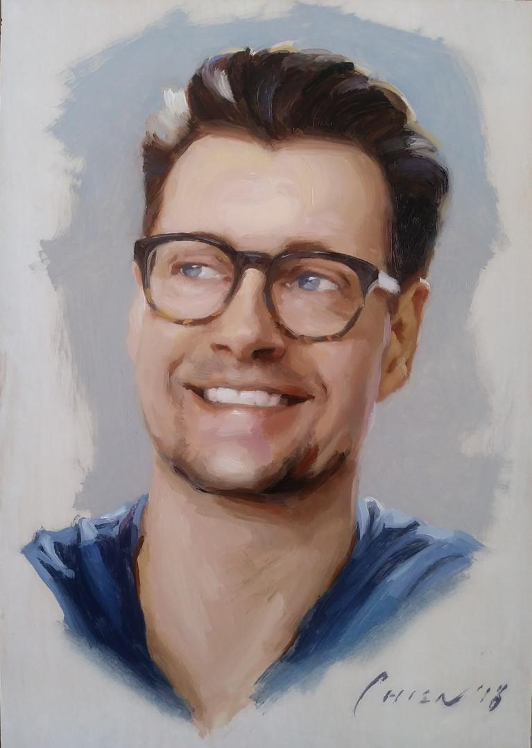 Geordie - Portrait Sketch