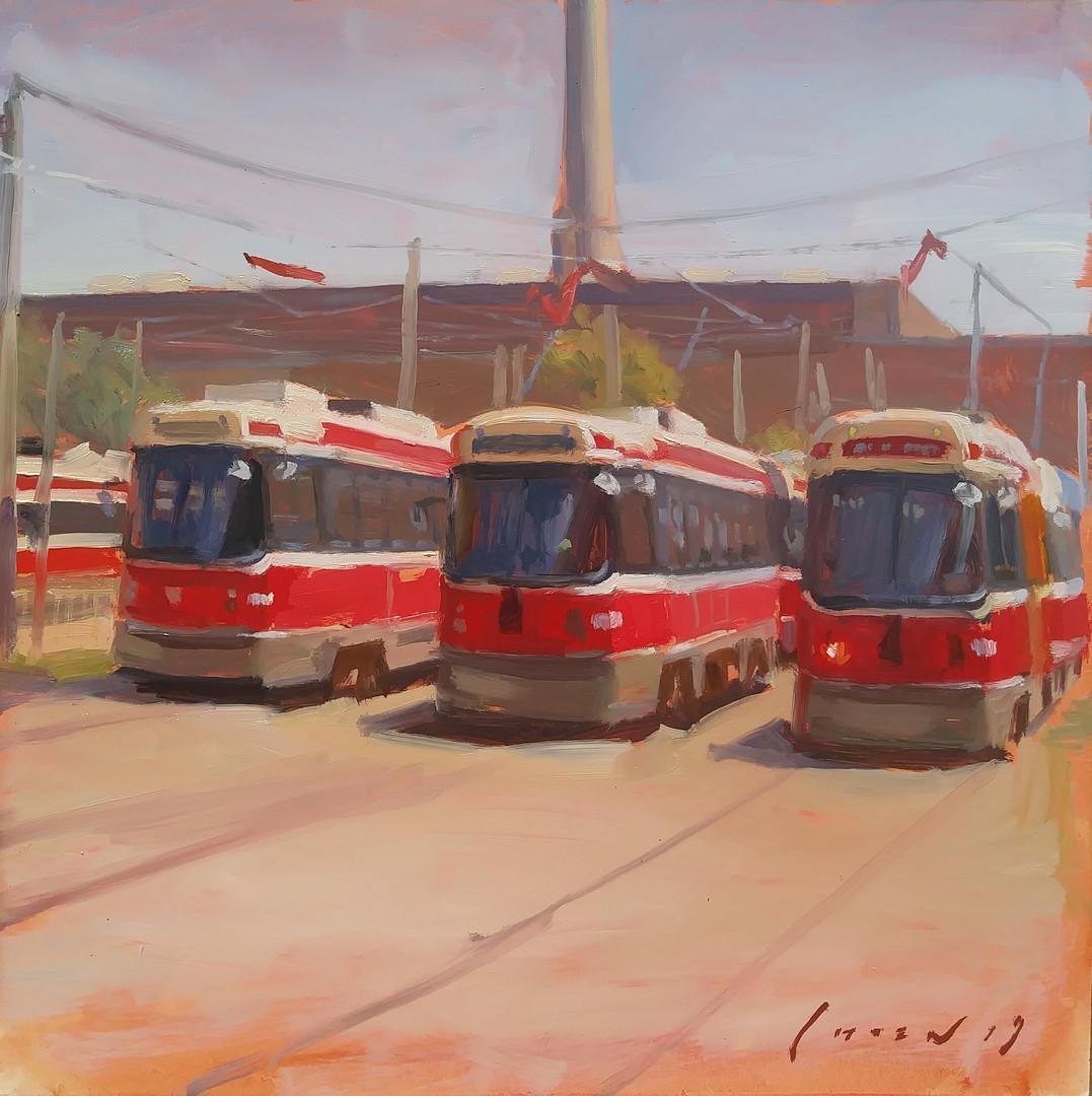 TTC Streetcar Depot - Landscape