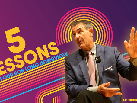 5 Lessons from the Bob Long interview