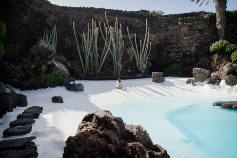 Jamos del Aqua di Cesar Manrique. Lanzarote, Canarie