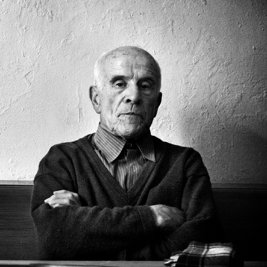 David Alvarez Carballado, exiled communist militant and prisoner. A Fonsagrada, Galicia 2006