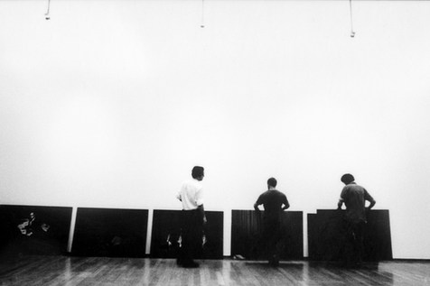 Thoma Dworzak, Christopher Anderson and Paolo Pellegrin at Pac Museum. Milan 2006