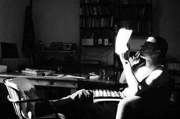 Gigi Giannuzzi founder of Trolley Books. Milan 2006