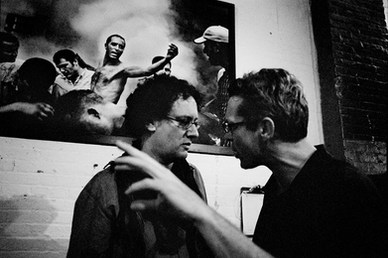 Paolo Pellegrin and Jamie Wellford. NY 2007