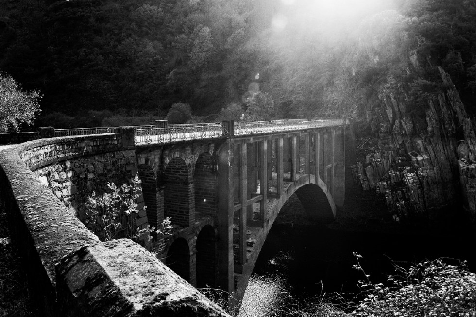 The bridge that Comandante Moreno crossed while he was running away from the franquists_galicia_2006