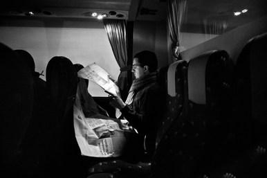 Nino Cannatà. Reggio Calabria - Bologna Bus 1.31 am
