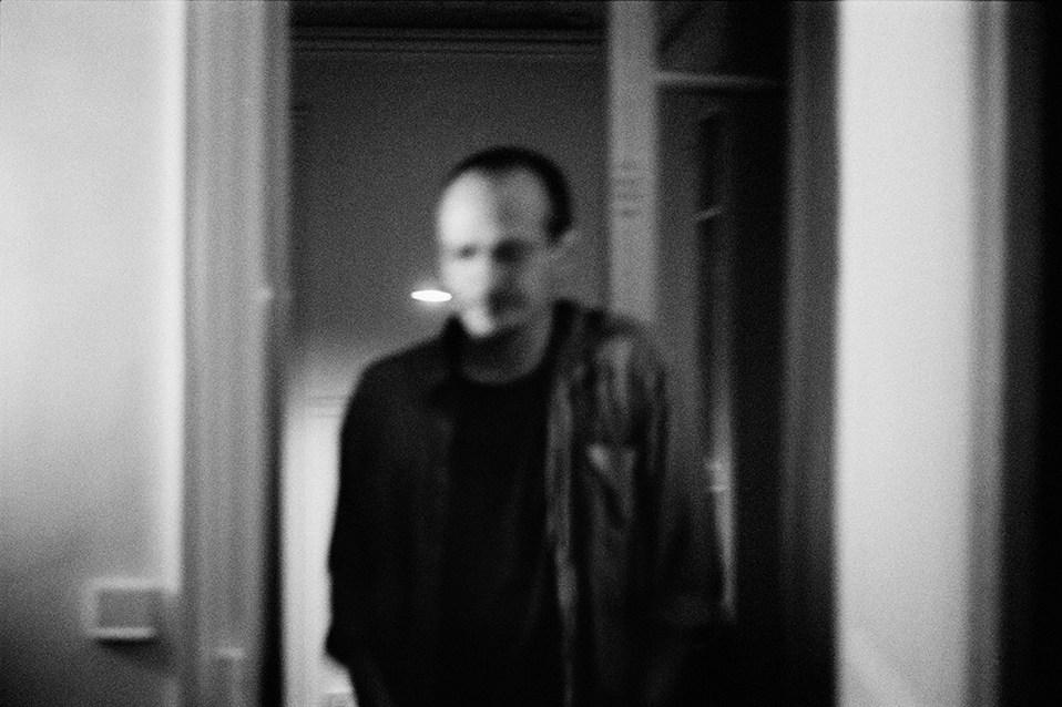 Antoine D'Agata at home. Paris 2005