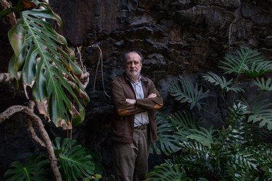 Ferdinando Gomez Anguilera direttore della Fondazione Cesar Manrique. Taiche, Lanzarote, Canarie