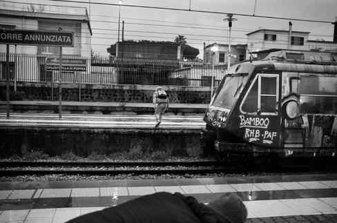 Circumvesuviana Naples - Sorrento 18.06 pm
