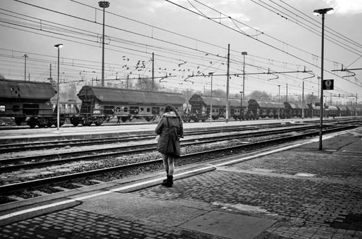 Cremona Station 6.32 am