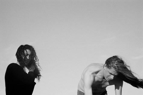 Alex Majoli and Lorenza Orlando. Arles 2005