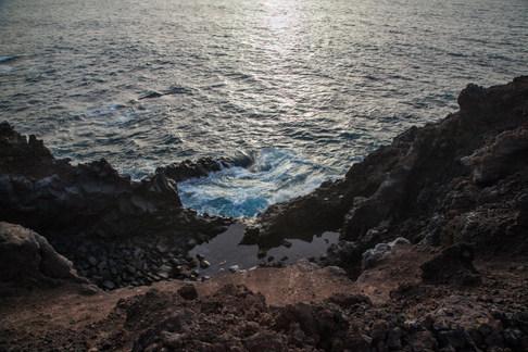 Los Hervideros. Lanzarote, Canarie
