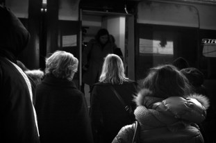 Rome Termini Station 9.00 am