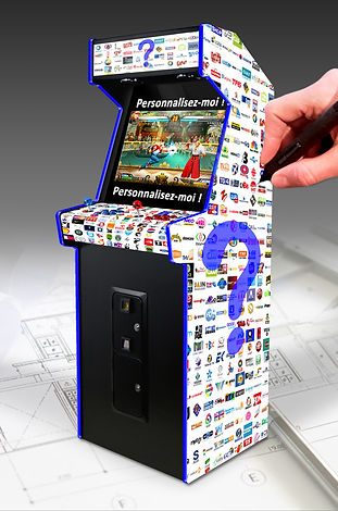 Borne d'arcade personnalisée | France | Arcade Vintage