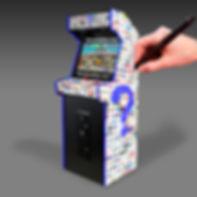 Borne d'Arcade personnalisée | Arcade Vintage | 06 19 06 18 38