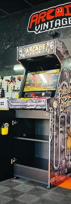 borne arcade  vintage personnalisée Steam punk