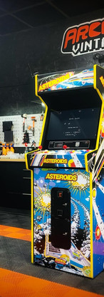 borne arcade vintage Astéroïde