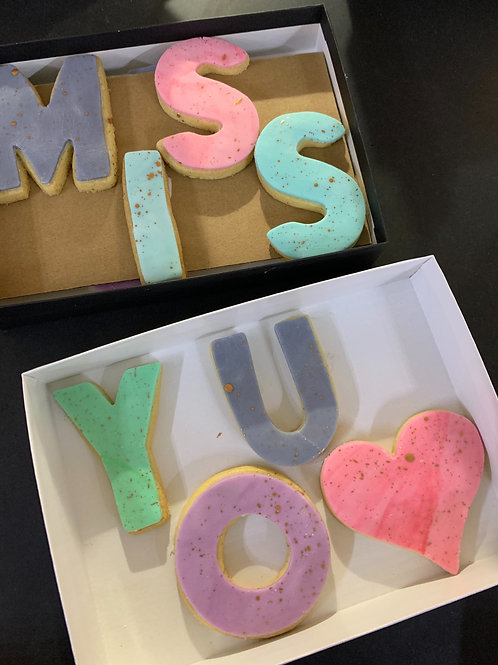 Biscuit Messages (up to x10 Characters)