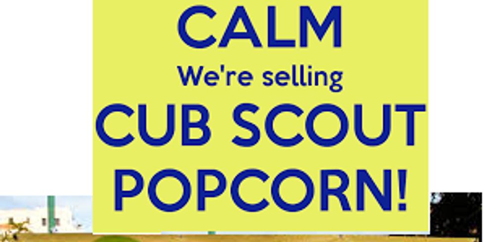Popcorn Sale at Farmers Market