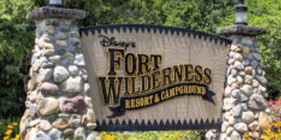 Pack Camping at Disney's Fort Wilderness Resort