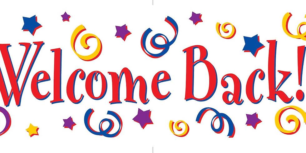 Welcome Back Bash!